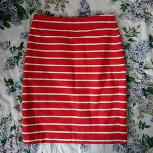 Banana Republic Striped Skirt ✏Perfect for Summer!
